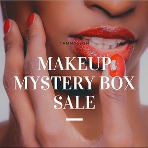 MAKEUP MYSTERY BOX VALUED AT OVER $200